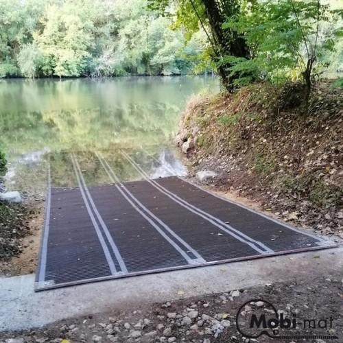 Cale de mise à l'eau portable Mobi-mat®